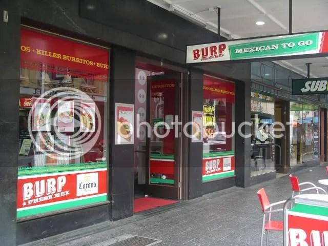 Burp, Hindley St., Adelaide