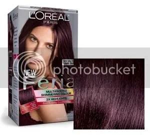 Loreal Chocolate Cherry Hair Color