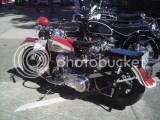 Harley recém restaurada