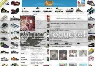 Nike Dunks Myspace Layout