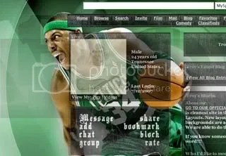Paul Pierce Myspace Layout