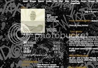 Stussy Myspace Layout