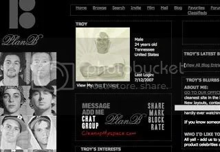 Plan B Myspace Layouts