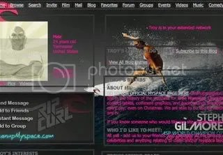 Stephanie Gilmore Surfing in Australia Layout