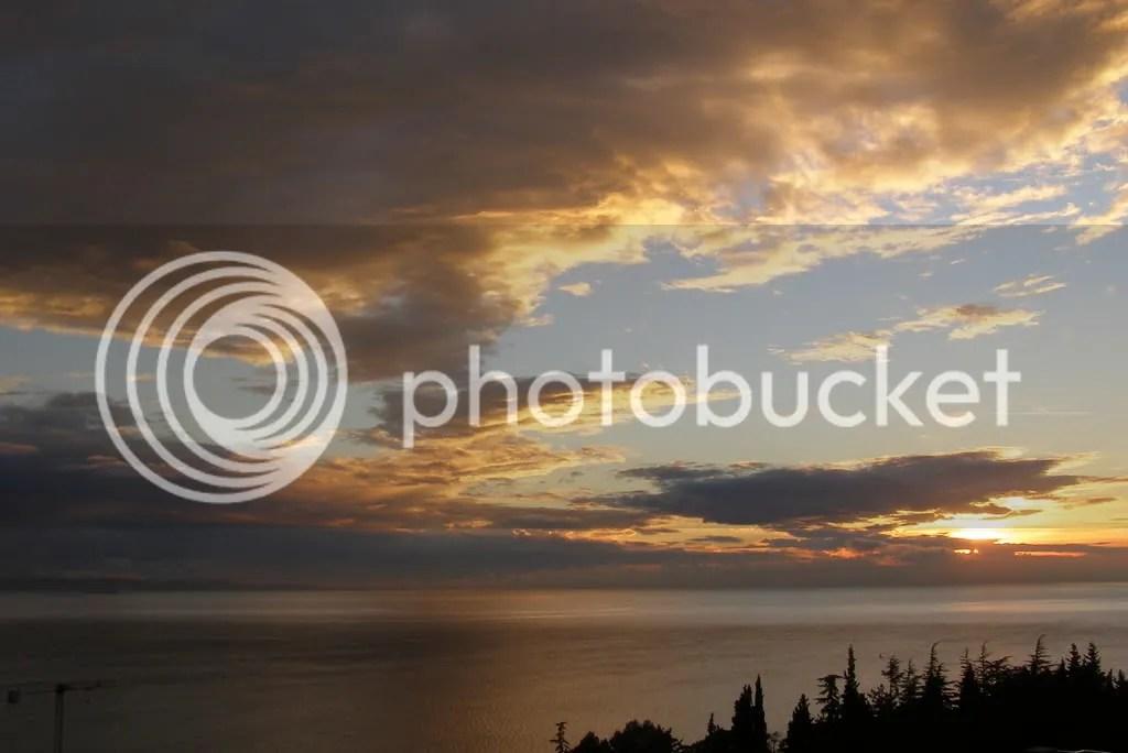 Adriatico sea and sky