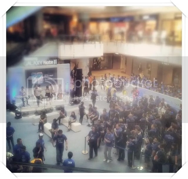 launching galaxy note