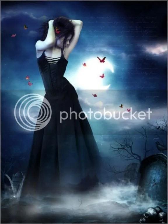 GothicNightLady.jpg Goth Night Lady image by GothVampiress