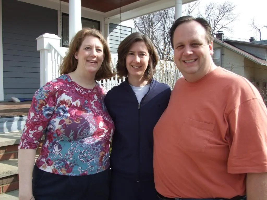 An odd coincidence to share... Janet and I celebrated our 5th anniversary on March 27.  And it just happened to be that day when we started with Mary, Janet's Maid of honor, in Binghamton...
