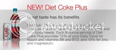 diet Coke Plus desc.