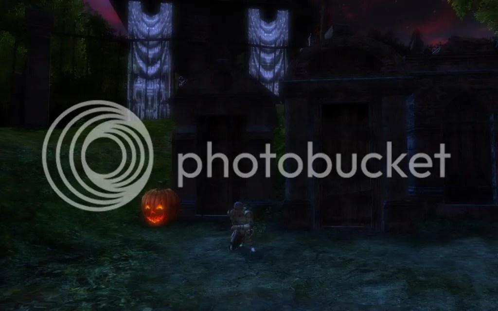 Hammy kneeling before the tombs in Delera's Graveyard photo HammykneelingbeforethetombsinDeleras_zpsed25e85e.jpg