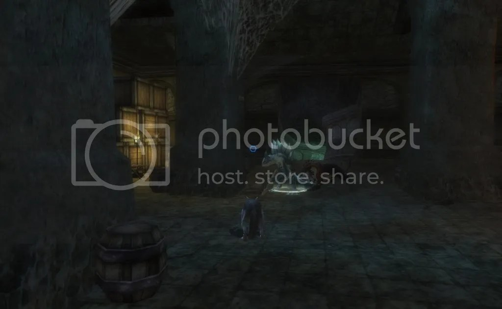 Cannock and his pack in the Storehouse photo CannockintheStorechouseSecret_zps39c54a7a.jpg