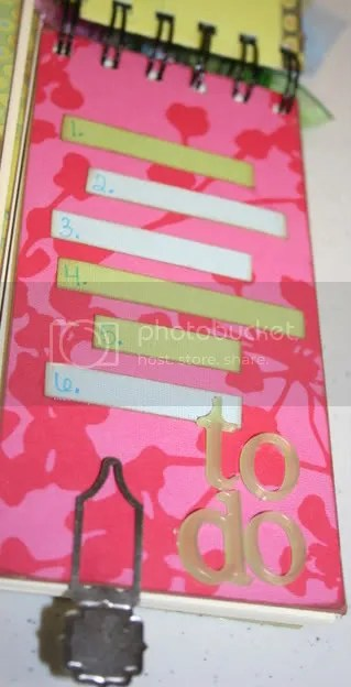 To Do List Flip Divider