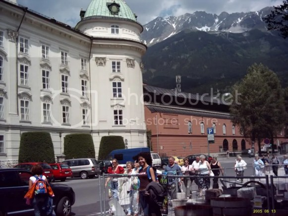 Europe trip 2005, Austrian Alps