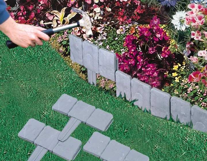 Garden border edging tiles. garden border edging marshalls ...