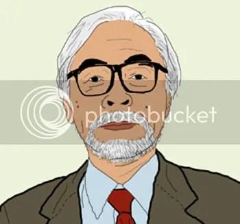 Hayao Miyazaki Photo cartoon