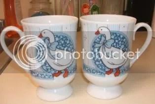 80\'s goose mugs