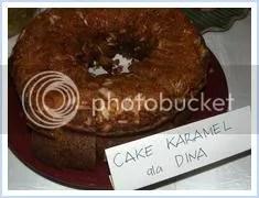 Cake Caramel Dina