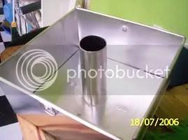 Loyang Chiffon kotak berkunci - tampak atas