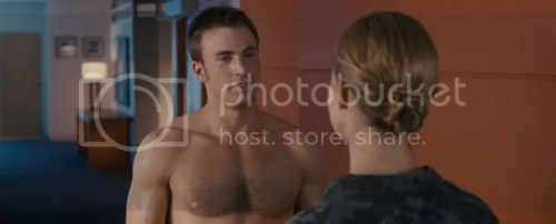 Chris Evans Shirtless