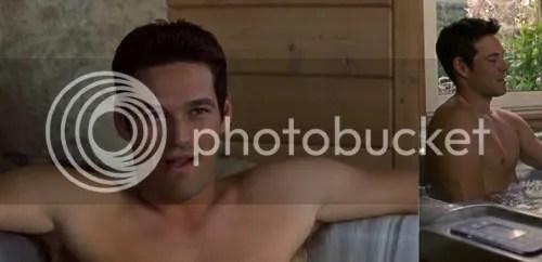 Shirtless Eddie Cibrian