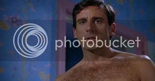Steve Carell Shirtless