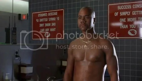 Cuba Gooding Jr. Shirtless