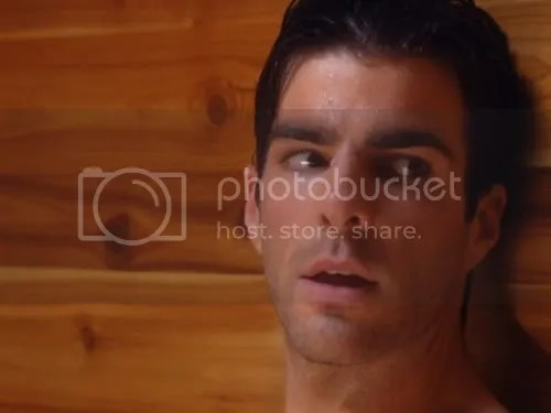 Zachary Quinto Shirtless
