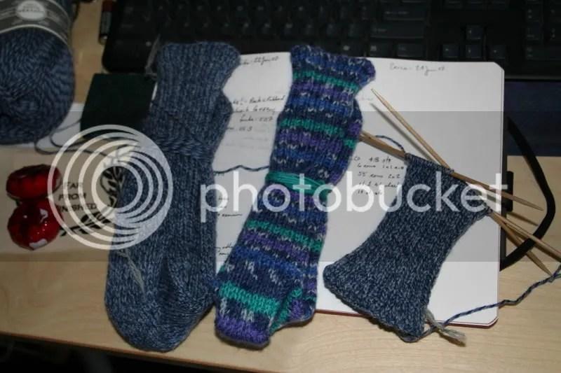 george/erika socks