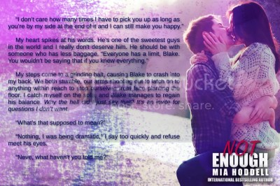 Not Enough by Mia Hoddell, teaser 2