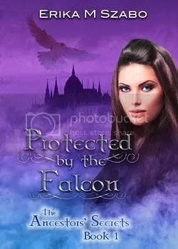 Protected by the Falcon by Erika M. Szabo, fantasy, romance