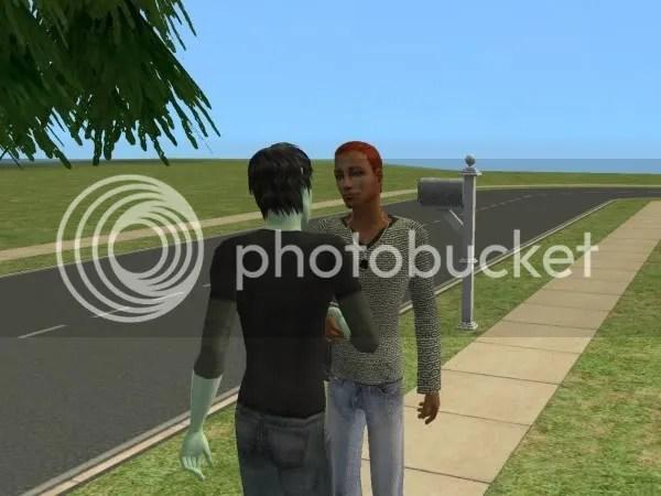 Joe meets the friendly neighborhood alien, John Doe