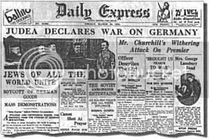 Ketika Yahudi Menyatakan Perang