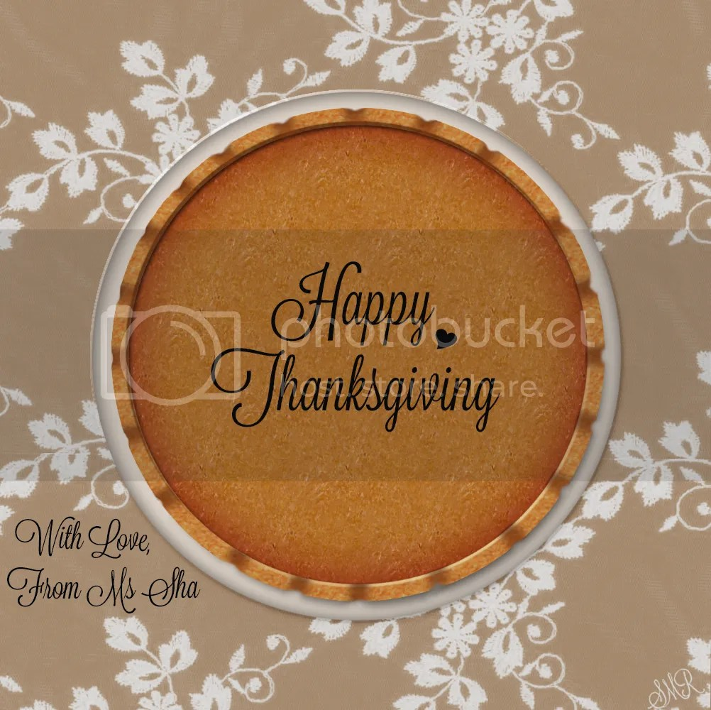 Happy Thanksgiving Pie=