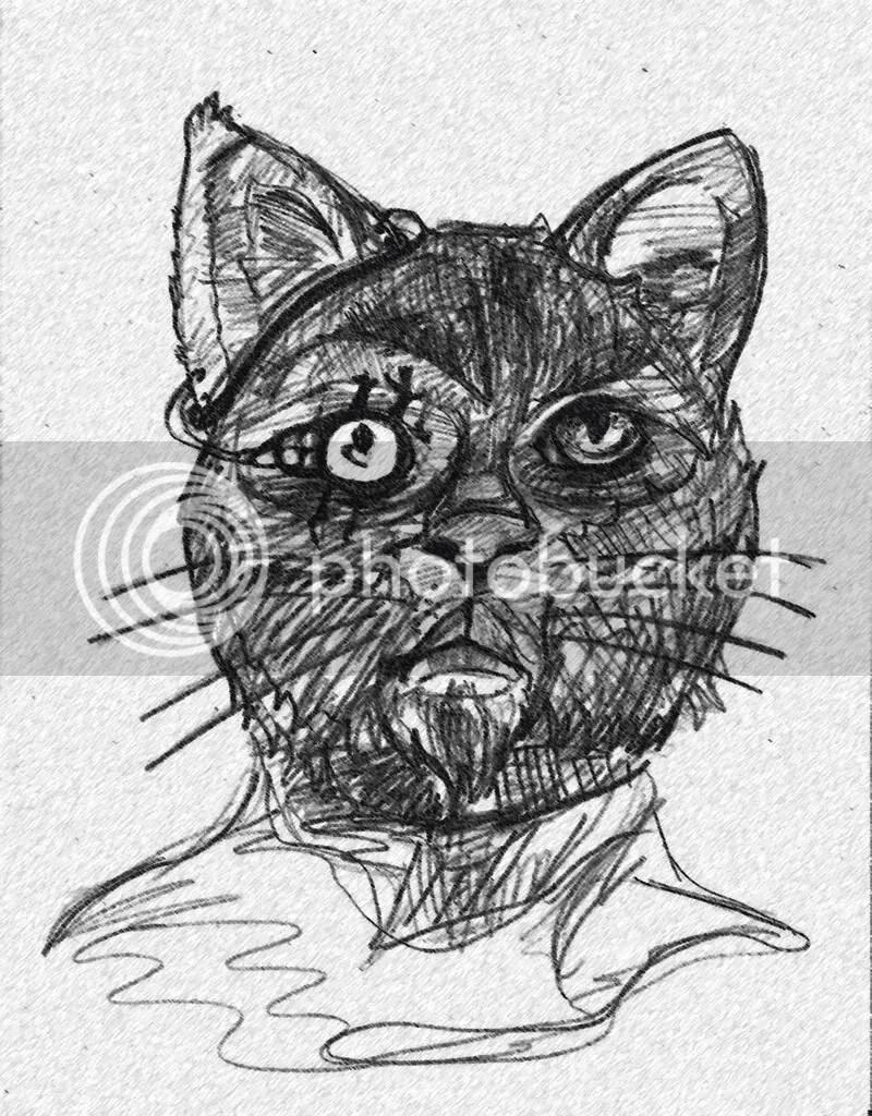 Depressive Cat