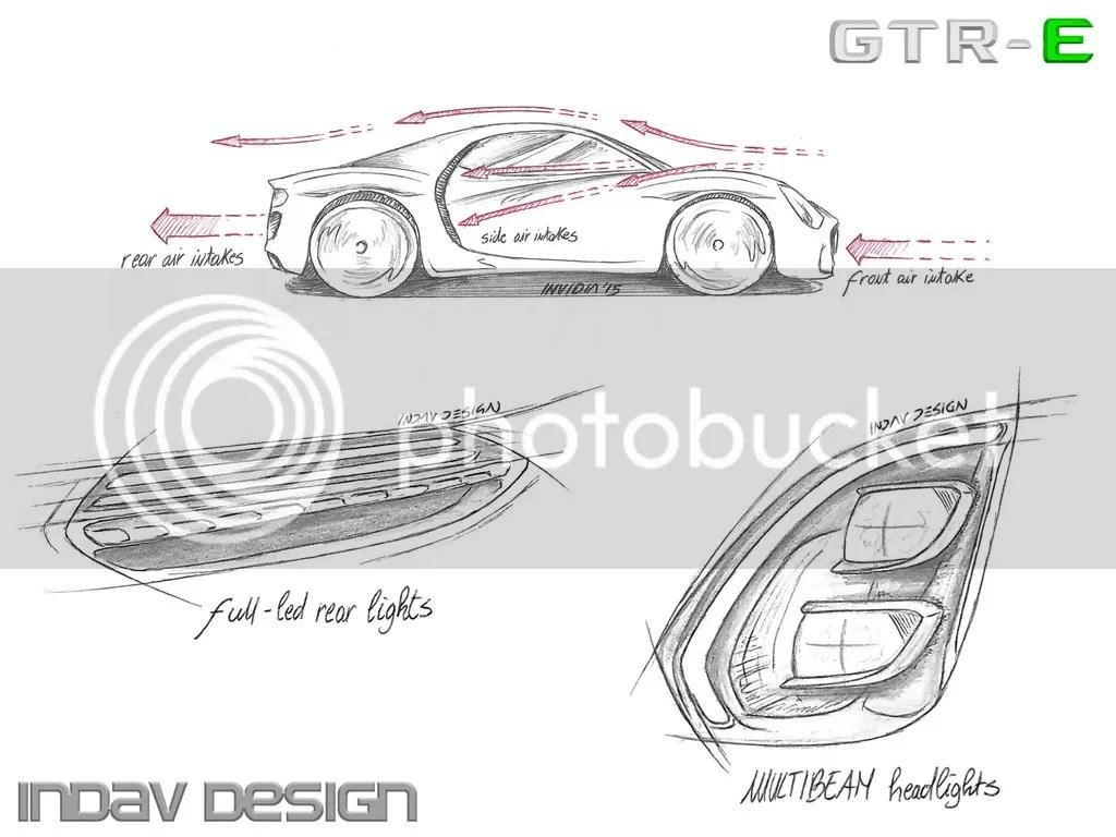 Mercedes Benz Gtr E By Indav Design
