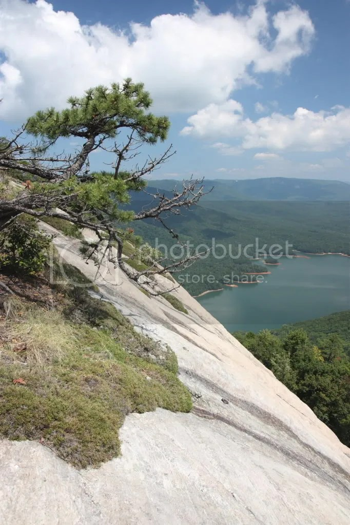 View from the top of Table Rock, SC