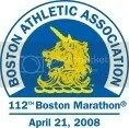 BAA 112th Boston Marathon logo