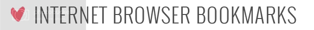 Internet Browser Bookmarks