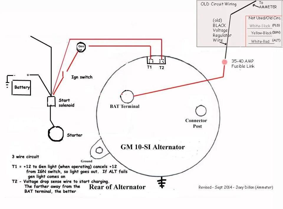 3 wire gm alternator diagram   28 wiring diagram images