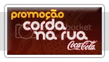 Promoção Corda Na Rua - Coca-Cola [Logo]