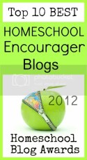 Top 10 Homeschool Encourager Blogs 2012 @hsbapost