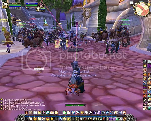 Dalaran Party 11/04/08 End of Beta
