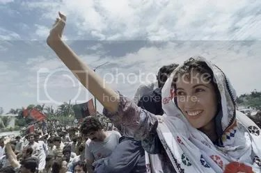 WHen Benazir got back to Pakistan