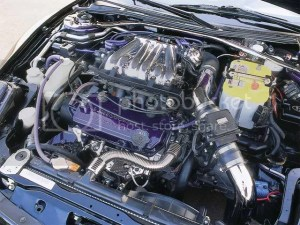2001 Mitsubishi Eclipse Spyder Engine Bay View Photo by