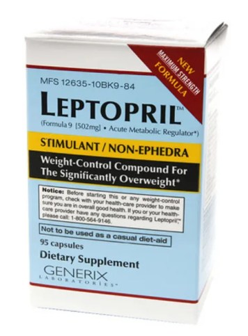 Leptopril diet pill