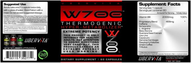W700 Thermogenic Hyper-Metabolizer