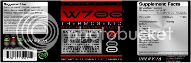 W700 Thermogenic Hyper-Metabolizer