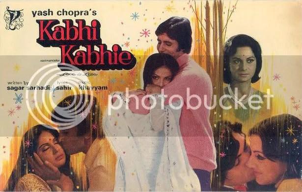 kabhie kabhie poster