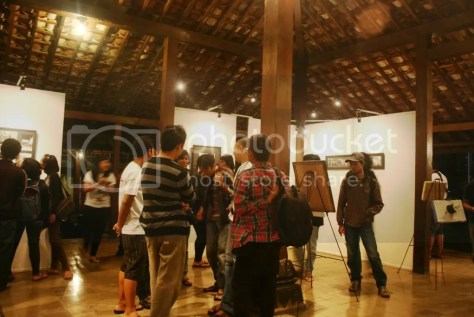 Kebanyakan teman-teman yang hadir juga berasal dari komunitas fotografi mahasiswa juga.