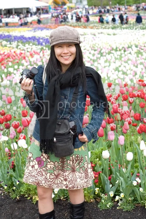 Tulips + Me!